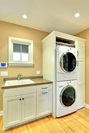 washer and dryer in bedroom closet elegant attractive cabinet stacked doors close washer dryer closet