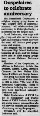 Baha'i Ralph Featherstone among MCs at gospel concert - Newspapers.com