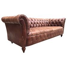 Vintage couch for sale Victorian Parlor 1stdibs Vintage Leather Chesterfield Sofa For Sale At 1stdibs