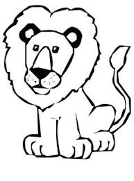 lion coloring sheet free