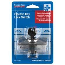 garage door switchAce 6345 Keyed Garage Door Opener Switch
