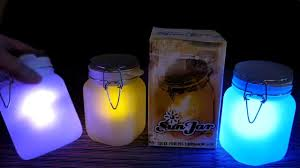 Solar Jars Sun Jar Solar Powered Night Light Hands On Review Of All Three