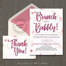 Bridal Shower Invitation Templates Best Downloadable Bridal Shower Invitations Arts Arts