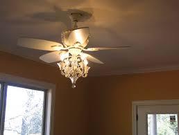 white ceiling fan chandelier combo