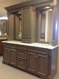 bathroom double vanity with center tower. double vanity with linen tower middle google search bathroom center