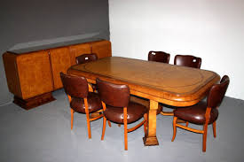 art art deco dining furniture