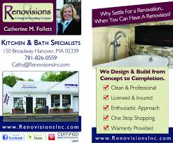 Remodeling And Design Business Business Card Designed For Renovisions Kitchen Bath