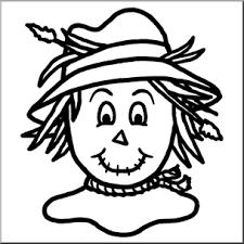scarecrow clip art black and white. Modren Art Clip Art Scarecrow 3 Bu0026W I Abcteachcom  Preview 1 To Art Black And White E