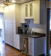 Tall Pantry Cabinet For Kitchen Kitchen Traditional Tall Kitchen Cabinet Featuring Floating