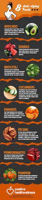 8 anti aging foods