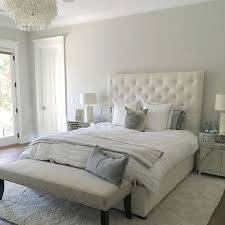 bedroom colors. paint color is silver drop from behr. beautiful light warm gray. stunning. eye bedroom colors