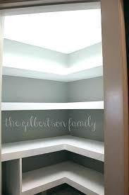 floating pantry shelves wood shelving nonsensical sliding kitchen rolling corner build adjule door rack pan