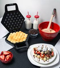 Eggette's kitchen isn't currently accepting orders. Cucina Pro Bubble Waffler Creates Hong Kong Style Eggette Waffles