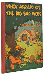 who s afraid of the big bad wolf three little pigs story and ilrations by