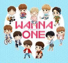 ปักพินโดย Rita Im ใน Wanna One | แฟนอาร์ท, การ์ตูน, อะนิเมะ