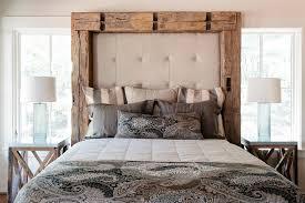 modern rustic bedroom wooden