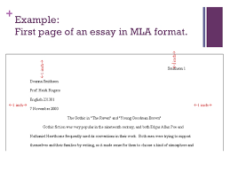 mla format essay by example of a narrative essay in mla format essay title page in mla format resume don