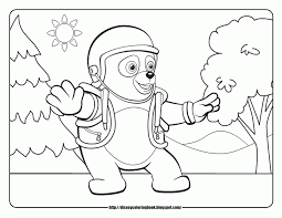 Small Picture Special Agent Oso Coloring Page Coloring Home