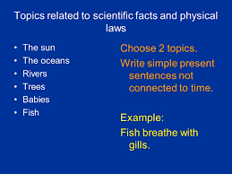 simple present and present progressive ppt video online  topics related to scientific facts and physical laws