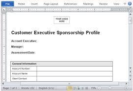 Sample Sponsorship Proposal Template For Microsoft Word