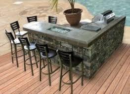 l shaped outdoor bar foter