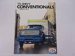 chevy c io 1975 chevrolet chevy conventional truck c50 c60 c65 s brochure literature