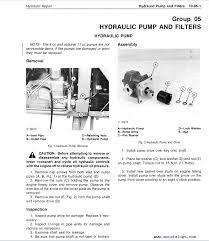john deere 850 900hc 950 1050 tractors tm1192 technical manual enlarge