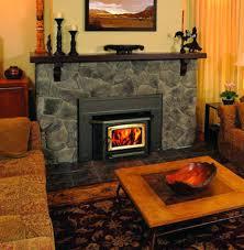 wood stove inserts menards burning fireplace for used