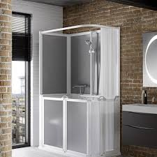 standalone shower cubicles