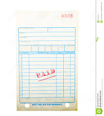 blank paid invoice royalty stock images image  blank paid invoice