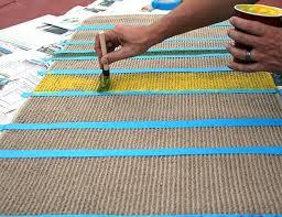 carpet paint. make your own diy doctor who runner carpet paint