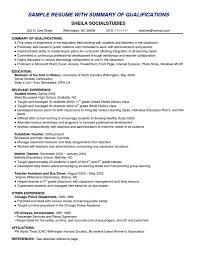 Customer Service Resume Summary Examples Bcxfour Com