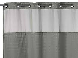 gray shower curtain extra long