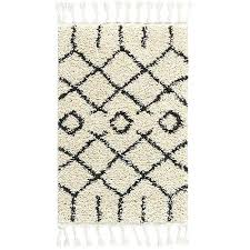 cream rectangular 2 ft in x 4 rug moroccan pattern grey
