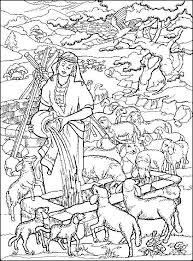 Kleurplaat Rebekka Bij De Put Rachel Bij De Dieren Bijbelse