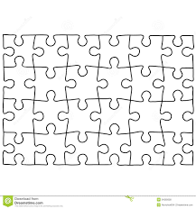 Jigsaw Puzzle Design Template Free Puzzle Templates 1300 1390