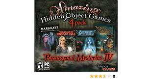 You will be given a list and be in a scene with many items. Amazon Com Amazing Hidden Object Games Paranormal Mysteries Iv Video Games