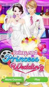 prince and princess wedding s beauty and fashion game makeup dress up and
