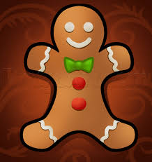 how to draw a gingerbread man easy