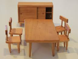 dollhouse dining room furniture. midcentury dollhouse furniture dining room i