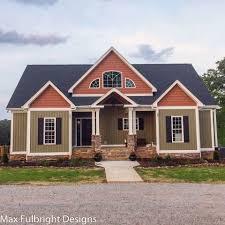 top home designs. 4-bedroom-house-plan-craftsman-home-design Top Home Designs U