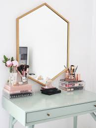 Kate La Vie - Dressing table/vanity make up storage room tour. I love