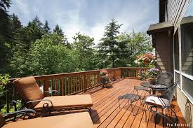 wood deck cost. Cost To Build A Wooden Deck Wood O