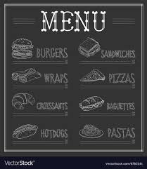 Chalkboard Menu Board Chalk Board Menu Magdalene Project Org