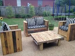 diy wood patio furniture. Wooden Pallet Patio Set Diy Wood Furniture U