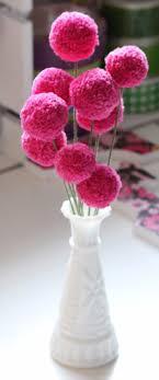 smart teens also diy crafts together with pom poms pom pom flower diy yarn pom pom