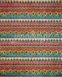 Bohemian Patterns Classy Eye Candy III PRINT Bohemian Pattern Tribal Pattern By Jenndalyn