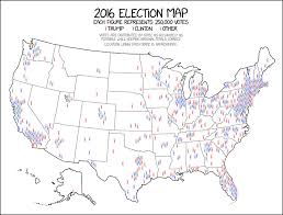 This 2016 Map Tweeted By Donald Trump Is Hugely Misleading