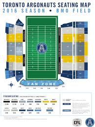 Bmo Field Detailed Seating Chart
