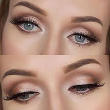 naturally beautiful blue eyes makeup